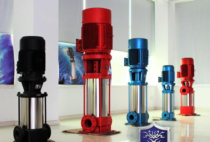 qdlf型不锈钢立式多级离心泵图片